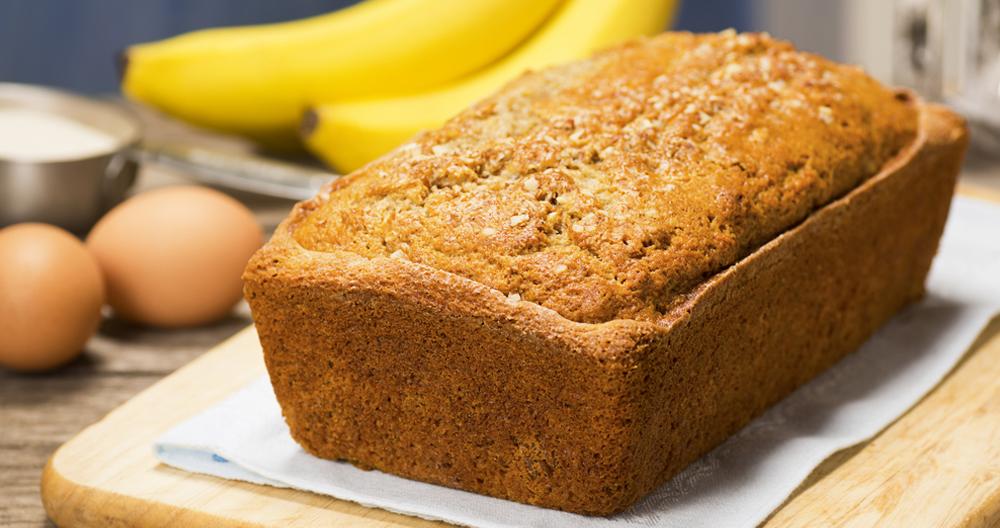 Panqué de plátano