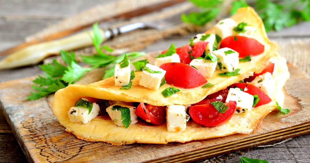 Quesadillas de verduras con queso panela