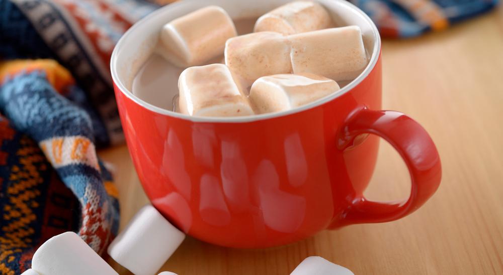 Chocolate con leche Lala y malvaviscos