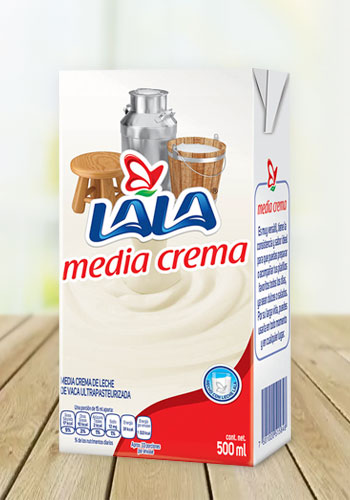 Media Crema LALA