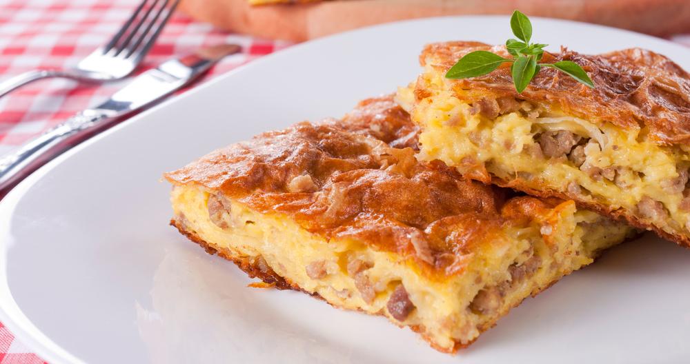 Pastel de carne con queso manchego Lala