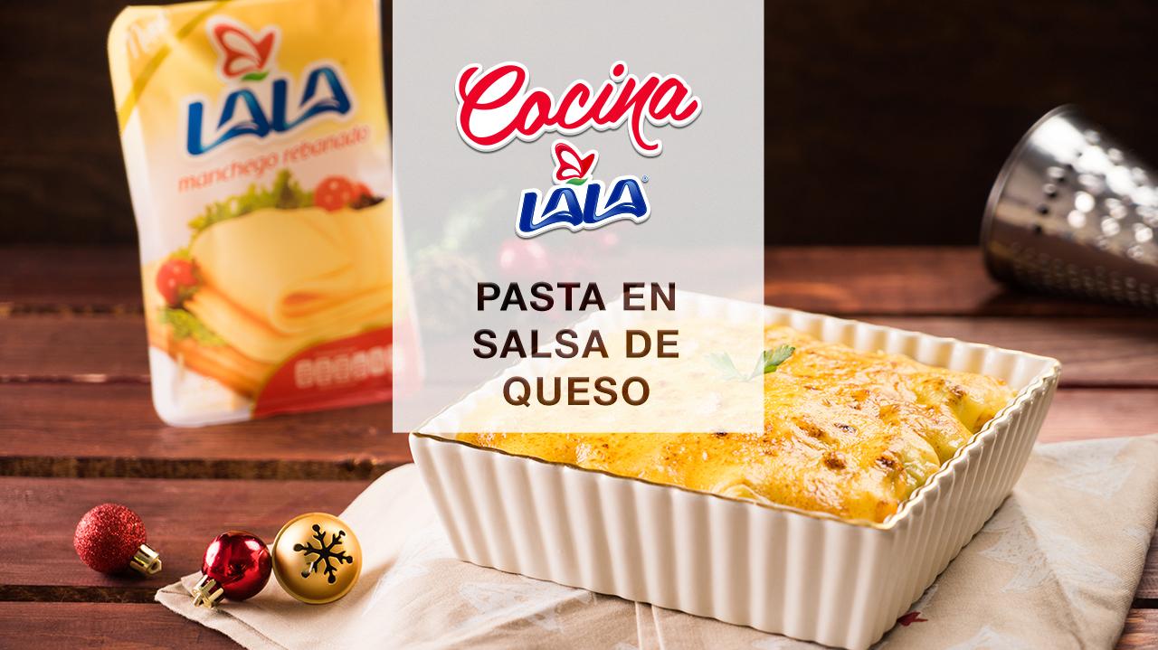 Pasta salsa de queso