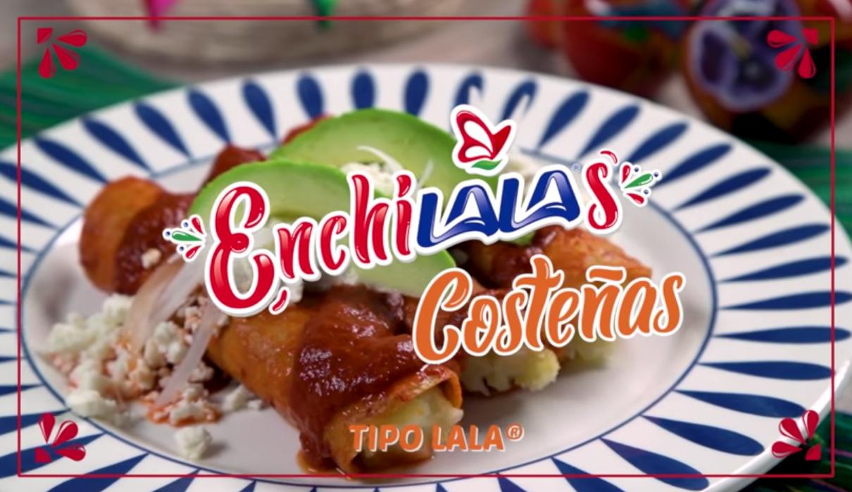 Enchiladas tipo costeñas