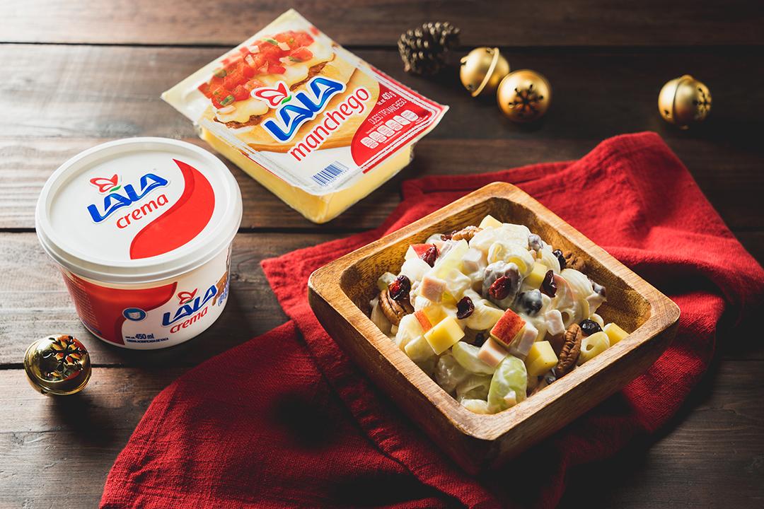 Pasta fría navideña